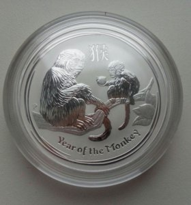 Серебряная монета Австралии