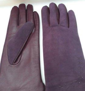 Перчатки нат.кожа и нат.замша