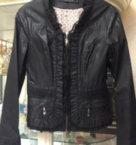 Куртка стильная ( кожа )