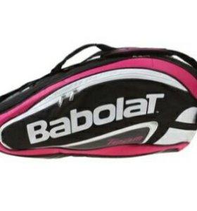 Чехол для теннисных ракеток Team Line, цвет розовы