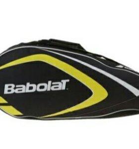 Чехол для теннисных ракеток Club, цвет жёлтый