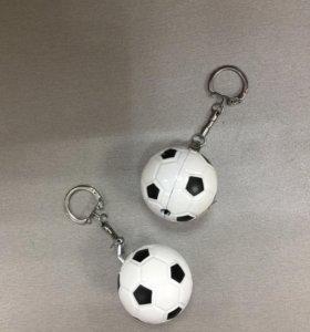 Новая зажигалка брелок футбольный мяч