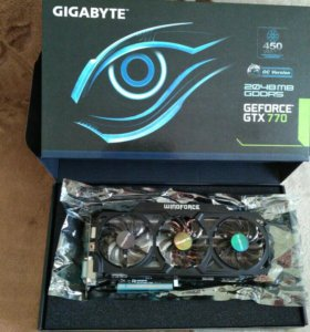 GIGABYTE GeForce GTX 770 1137Mhz PCI-E 3.0 2048Mb