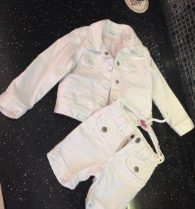 Джинсовая Куртка и шорты Gap (оригинал)