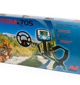 """Minelab X-Terra 705 с катушкой 10,5"""" 7,5kHz DD"""