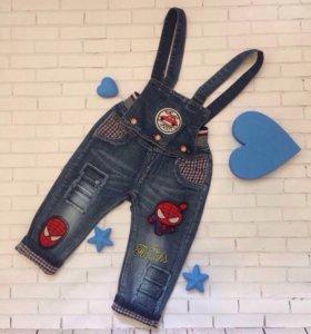 Комбинезон - джинсы