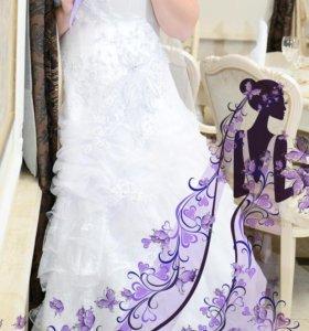 Свадебное платье (бижутерия в подарок)