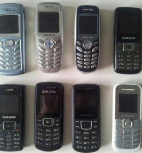 Рабочие телефоны Samsung