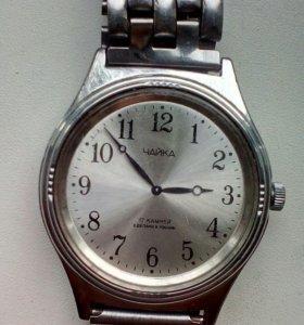 Часы (чайка) механника,17,камней, россия