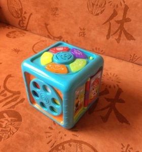 Развивающий музыкальный куб