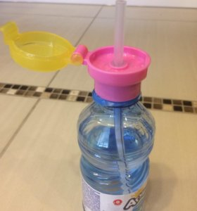 Крышка с трубочкой для питья