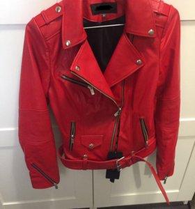 Новая куртка косуха кожаная