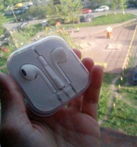 Новая гарнитура airpods logo Apple