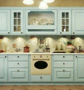 Кухонный гарнитур, кухня Прованс 002