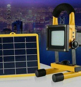 Автоном освещение с солнечной панелью
