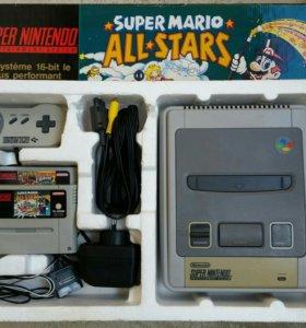 Игровая приставка Super Nintendo SNES