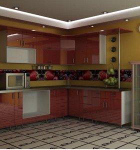 Кухонный гарнитур МДФ-099