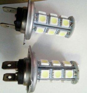 Лампа H7 18диодов