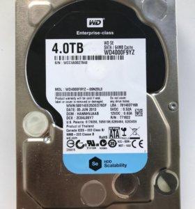 Жесткий диск Western Digital WD Se WD4000F9YZ SATA