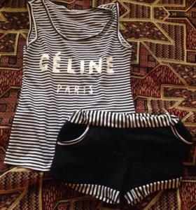 Комплект майка и шорты
