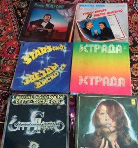 Музыкальные виниловые пластинки