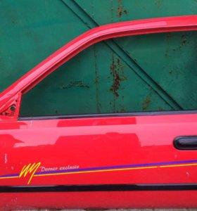 Дверь левая (3-х) Nissan sunny b-14 90-->г