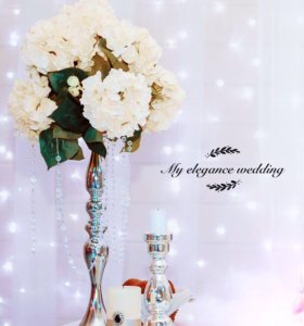 Аренда канделябров, подсвечников, стоек для цветов