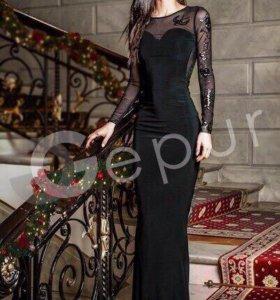 Продам новое платье чёрное
