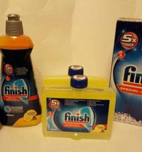 Жидкость для очистки п/машины FINISH 250 мл