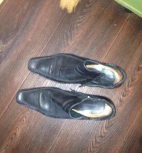 Ботинки осень