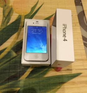 Apple iPhone 4 8G white