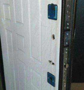 """Дверь входная """"Гарда"""" белый ясень"""
