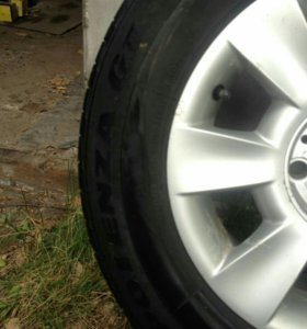 Колеса с бмв сверловка 5×120 225/60R15