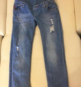 """Фирменные джинсы для беременных """"Буду мамой"""""""