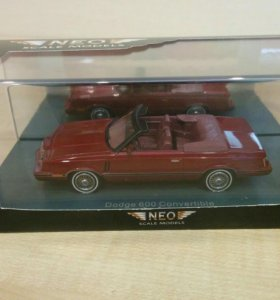 1/43 Neo Dodge 600 Convertible
