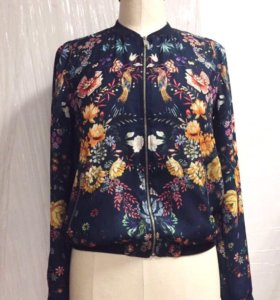 Куртка-бомбер Zara Trafaluc