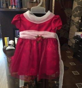 Платье праздничное на 1 годик