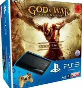 Sony PlayStation 3 God of War Ascension + Игры