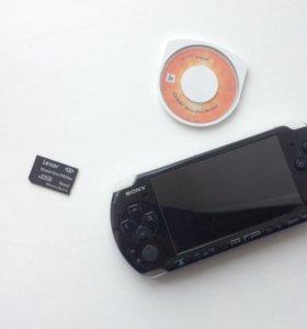PSP вместе с MEMORY CARD 32GB