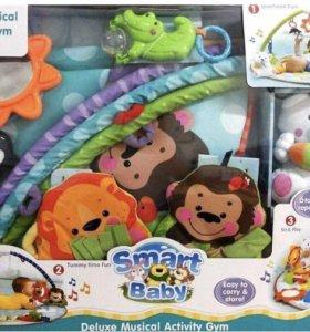 Развивающий коврик Умный малыш