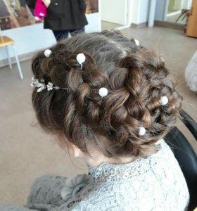 Плетение кос детям