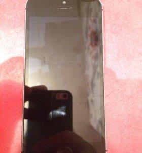 Продам iPhone 5 s 16 gb space grey