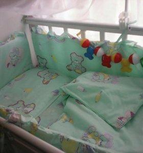 Детская кроватка- трасформер