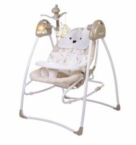 Электрокачели 2 в 1 Baby Care