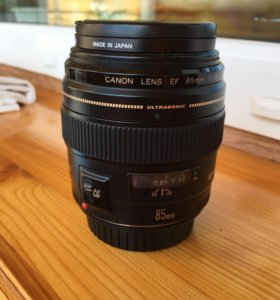 Canon 85 1.8