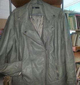 Куртка косуха из искусственной кожи