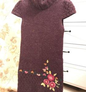 Мохеровое тёплое Платье Desigual
