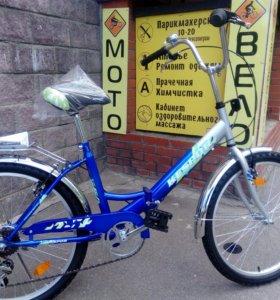 Велосипед кеспор 24 складной 6 скоростей