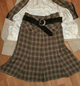 Костюм, пиджак, юбка