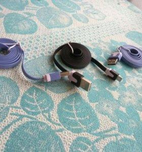 USB кабель на андроид 1м